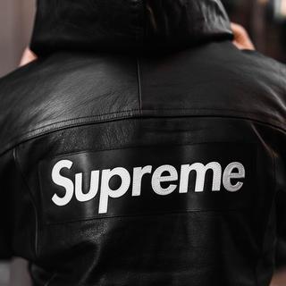 Supreme - Supreme×NIKE コラボ レザーアノラック