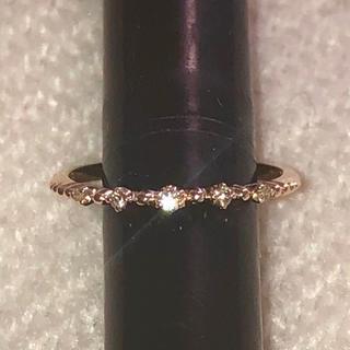 アガット(agete)のノジェス K10YG ダイヤモンド リング 0.02ct nojess(リング(指輪))