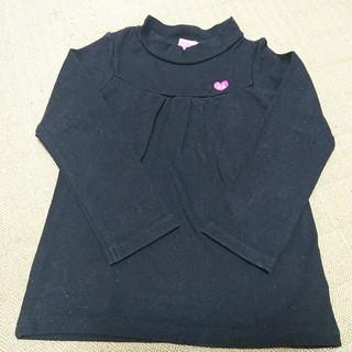 ホットビスケッツ(HOT BISCUITS)のHOT BISCUITS プチラメハート♪ハイネック長袖Tシャツ 110(Tシャツ/カットソー)