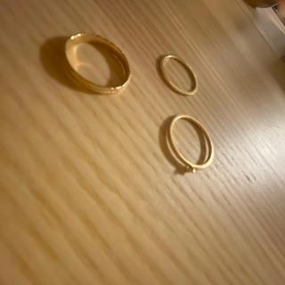 アガット(agete)のアガット指輪3点セット(リング(指輪))