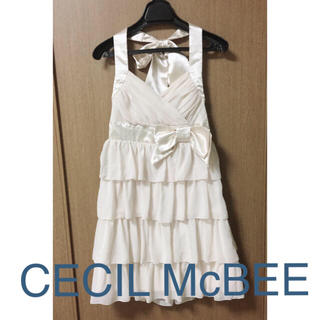 セシルマクビー(CECIL McBEE)のセシルマクビー ドレス(ミニドレス)