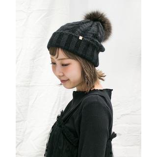 CA4LA - ☆美品☆カシラ CA4LA ニット帽子