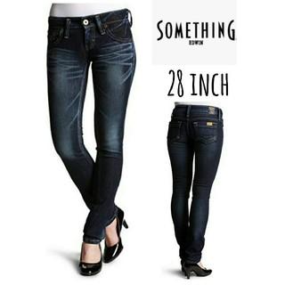サムシング(SOMETHING)のSOMETHING stretch skinny denim 28(デニム/ジーンズ)