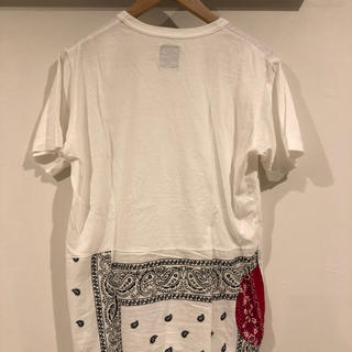 ヴィスヴィム(VISVIM)のvisvim ICT フラッグT ホワイトバンダナ(Tシャツ/カットソー(半袖/袖なし))