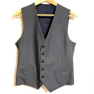 suit select リバーシブル ジレ