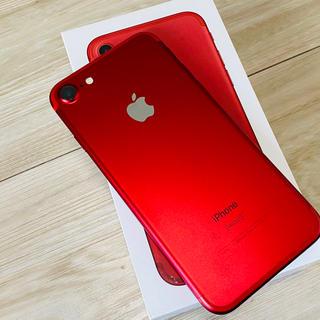 iPhone - iPhone7 red 128GB docomo