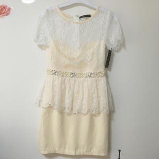 ジュエルズ(JEWELS)のjewels ビジュー ペプラム ドレス(ナイトドレス)