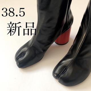 マルタンマルジェラ(Maison Martin Margiela)の新品38.5 メゾン マルジェラ ホログラムヒール 足袋 タビ tabi ブーツ(ブーツ)