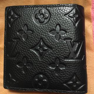 LOUIS VUITTON - 折財布  型押し  早い者勝ち  24日限りお値下げ