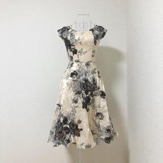 Chi Chi London - ChiChiLondon ASOS フラワープリント ドレス ワンピース M