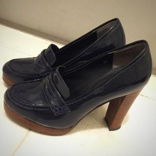 マーキュリーデュオ(MERCURYDUO)のマーキュリーデュオ  ヒールローファー(ローファー/革靴)