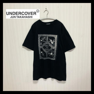 アンダーカバー(UNDERCOVER)の【レア】美品 アンダーカバー UNDERCOVER 古着 総柄 ロゴ Tシャツ(Tシャツ/カットソー(半袖/袖なし))
