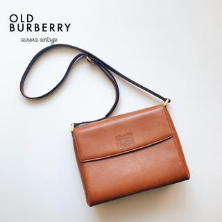 BURBERRY - 【良品】オールドバーバリー vintagebag ◇ ショルダーバッグ