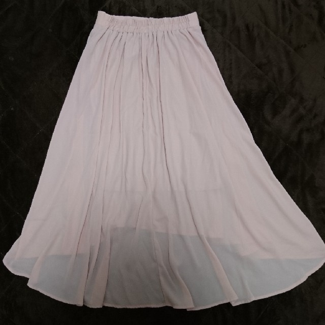 one*way(ワンウェイ)のワンウェイ マーメイド シフォン スカート ピンク Mサイズ レディースのスカート(ロングスカート)の商品写真