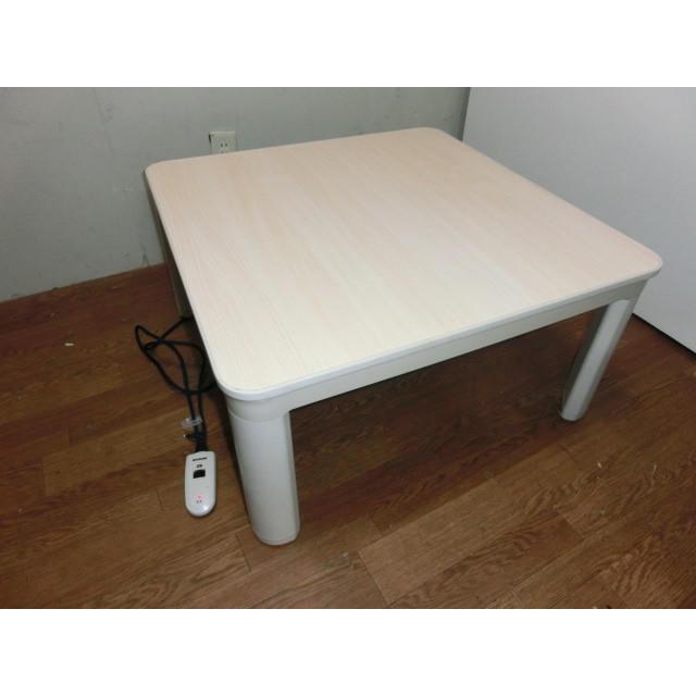 こたつ●リバーシブル●75×75●1-3007 インテリア/住まい/日用品の机/テーブル(こたつ)の商品写真