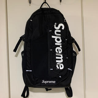 Supreme - Supreme 17SS backpack black ブラック