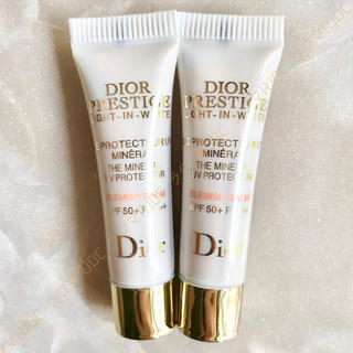 Dior - 【2,750円分】新製品✦プレステージホワイト ルプロテクターUVミネラル BB