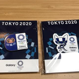 Galaxy - ギャラクシー 東京オリンピック ピンバッジ二個 ミライトワ ①