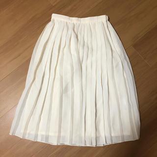 ナチュラルビューティーベーシック(NATURAL BEAUTY BASIC)のナチュラルビューティベーシック プリーツスカート(ロングスカート)