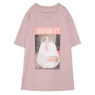 エイミーイストワール(eimy istoire)のMarilyn Monroe Photo Tシャツ 💗(Tシャツ(半袖/袖なし))