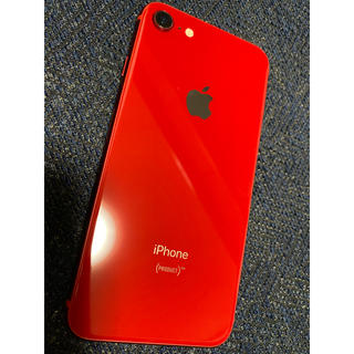 iPhone - iPhone8 本体 64GB PRODUCT RED