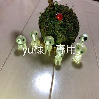 ジブリ - コダマ フィギュア6体