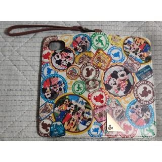 Disney - 東京ディズニーランド iphone6,7,8用 手帳型カバー 実写デザイン
