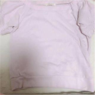 ビーラディエンス(BE RADIANCE)のBE RADIANCE♡刺繍トップス(カットソー(半袖/袖なし))