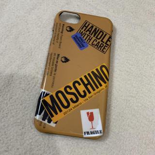 モスキーノ(MOSCHINO)の正規 MOSCHINO モスキーノiPhoneケース 6.6s/7対応(iPhoneケース)