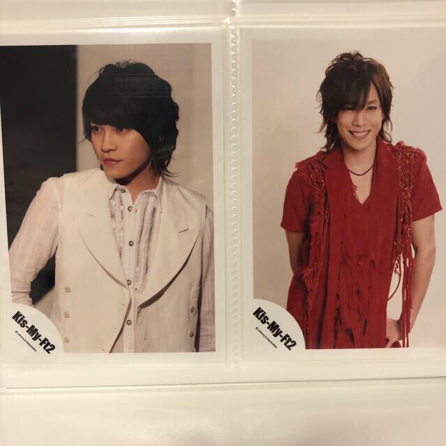 Kis-My-Ft2(キスマイフットツー)のキスマイ ニカ千 公式写真セット チケットの音楽(男性アイドル)の商品写真