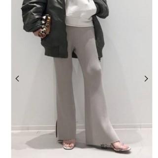 L'Appartement DEUXIEME CLASSE - アパルトモン Slit Knit Pants 34