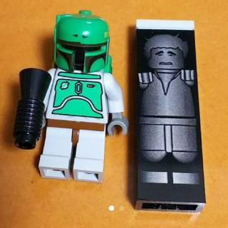 Lego - レゴ★スターウォーズ ボバフェット&カーボンハンソロ ミニフィグ 美品 ラスト