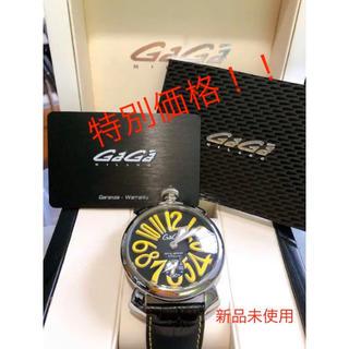 ガガミラノ(GaGa MILANO)の大特価!激安価格!!ガガミラノ GaGaMILANO マヌアーレ 腕時計 レア(腕時計(アナログ))