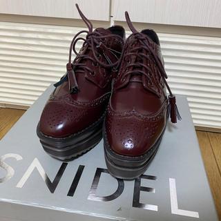 snidel - オックスフォードシューズ SNIDEL
