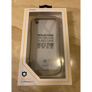 iFace リフレクション クリアベージュ iPhone7.8兼用