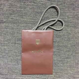アガット(agete)のagete アガット ショップ袋 紙袋(ショップ袋)