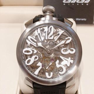 ガガミラノ(GaGa MILANO)のガガミラノ 5310.01S ギャラカード付き 美品(腕時計(アナログ))
