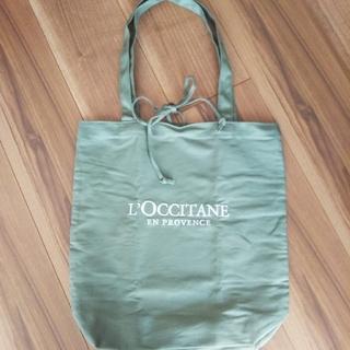 L'OCCITANE - ☆美品 未使用 カーキ色 ロクシタン エコバック