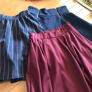 ページボーイ(PAGEBOY)のページボーイ スカート 3点(ひざ丈スカート)