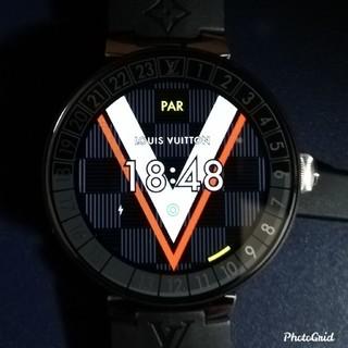 ルイヴィトン(LOUIS VUITTON)のLOUIS VUITTON♡ルイヴィトン タンブール ホライゾン V2 超美品!(腕時計(デジタル))