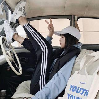 adidas - EMODA GYDA rienda 好きに!! ジャージ ラインパンツ