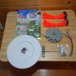 ヒタチ(日立)のHiKOKI(ハイコーキ) 旧日立工機 ナイロンコードカッタ「白い皿」 さしこみ(工具/メンテナンス)