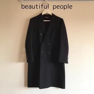 beautiful people - 人気★Beautiful people チェスターコート ブラック