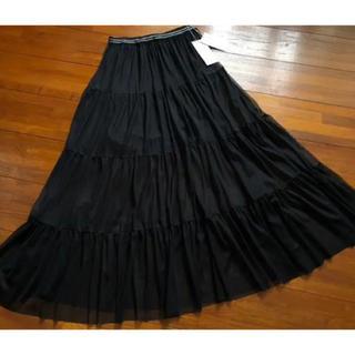 Mila Owen - 《新品タグ付き》ミラオーウェン 2wayチュールロングスカート