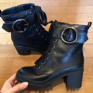 ベルシュカ(Bershka)の【美品】Bershka ブーツ 23cm(ブーツ)