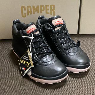 カンペール(CAMPER)の新品 Camper Peu Pista ゴアテックス レザースニーカー 35(スニーカー)