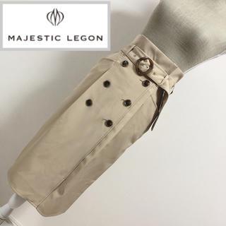 MAJESTIC LEGON - マジェスティックレゴン トレンチ風ロングスカート