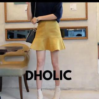 dholic - 【DHOLIC】スエード調スカート
