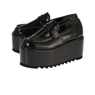 ジュエティ(jouetie)のjuetie ダブルプラットフォームローファー(ローファー/革靴)