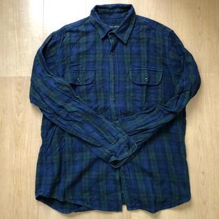 SHIPS - シップス チェックシャツ シャツ 綿シャツ 長袖シャツ ネルシャツ カジュアル